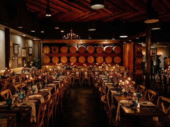 Tmx Barrel Room Reception Madera Kitchen 51 1016631 1555624524 Los Angeles, CA wedding venue