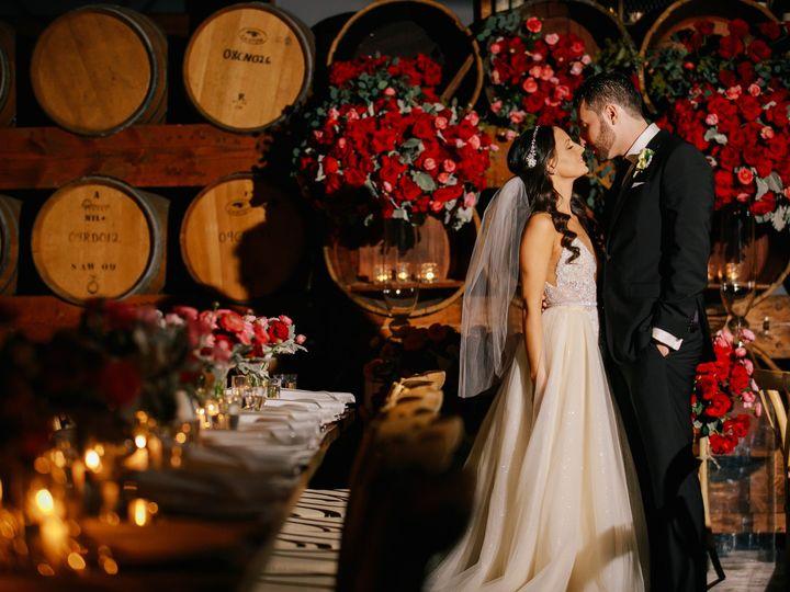 Tmx Barrel Wall Reception Madera Kitchen 51 1016631 1555624535 Los Angeles, CA wedding venue