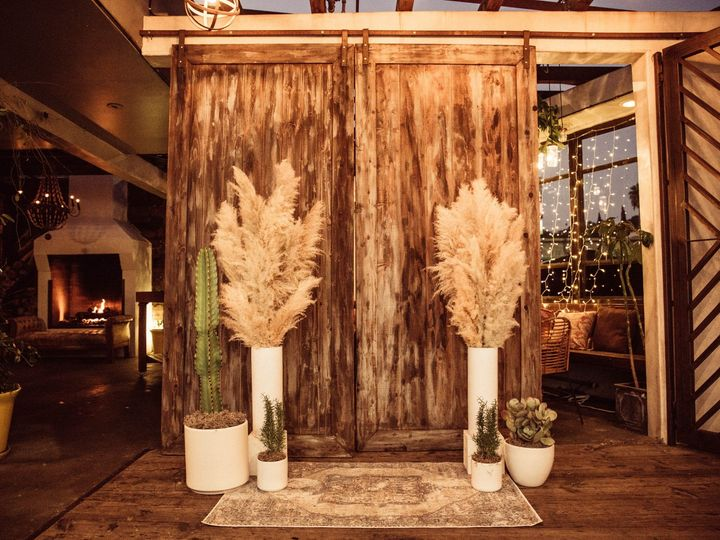 Tmx Wood Doors Wedding Ceremony Madera Kitchen 51 1016631 1555624579 Los Angeles, CA wedding venue