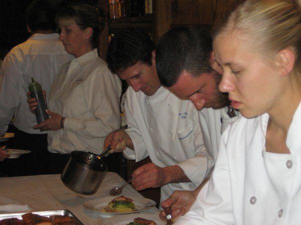 Tmx 1292530662309 StaffinActionGaineyWinery20089 Santa Barbara, CA wedding catering