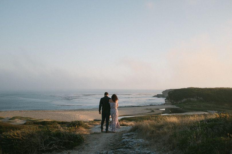 A lovers walk