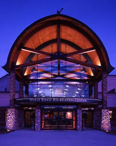 Wheat Ridge Recreation Center Front Entrance