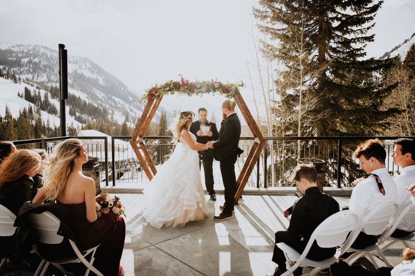 Mountain Wedding - Snowbird