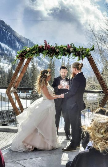 Snowbird destination wedding