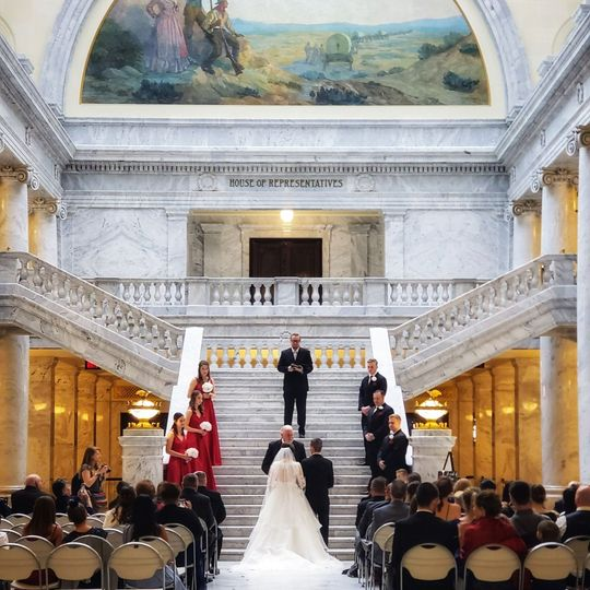 The Capitol Building Ceremony