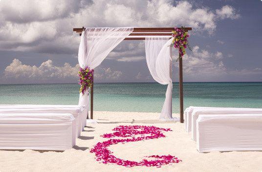 Sexy Chic Beach Wedding