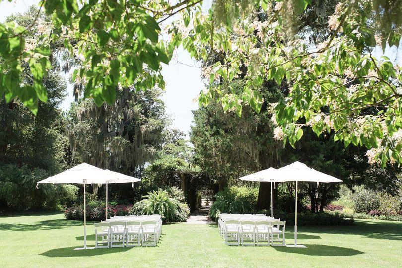 Pergola Garden Ceremony