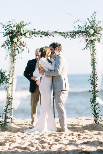 Seaside vows