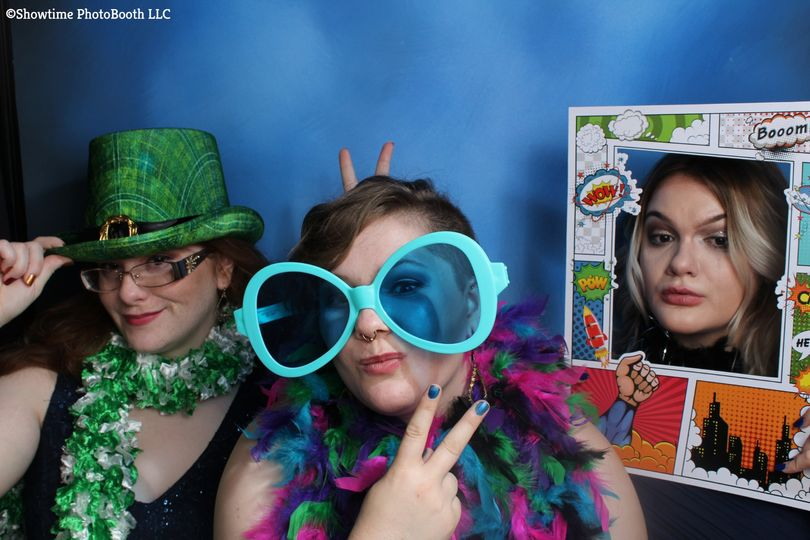 Different photo booth props