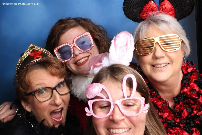 Photo booth glasses props