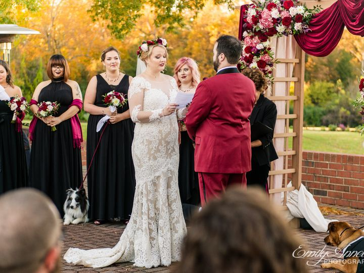 Tmx Emily Annette Photography Northern Virginia Nova Wedding Photographer Richmond Willow Oaks Country Club Bride Groom Ceremony Outdoor Vows 51 999631 Fairfax, VA wedding photography