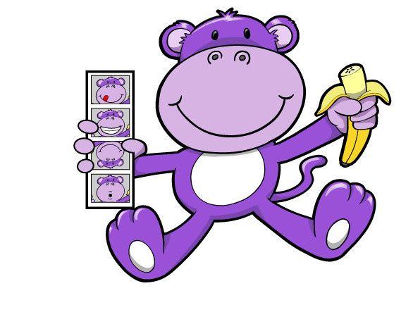 Purple Monkey Photo Booth Rentals