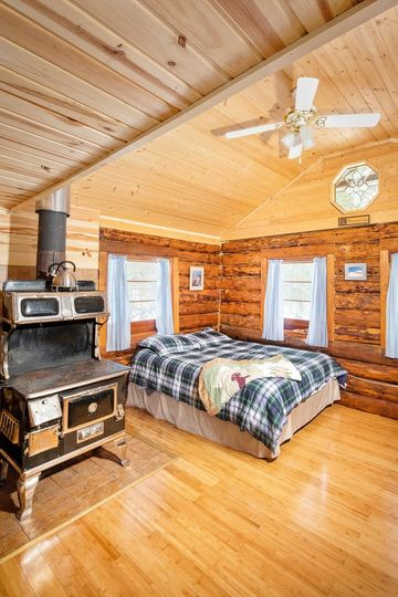 Stay in an authentic AK cabin