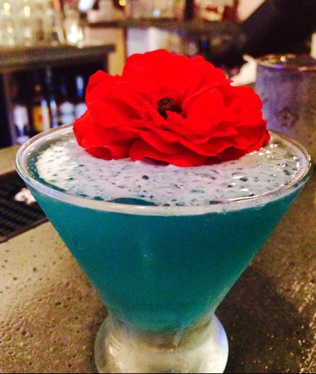 Blue Lagoon Martini