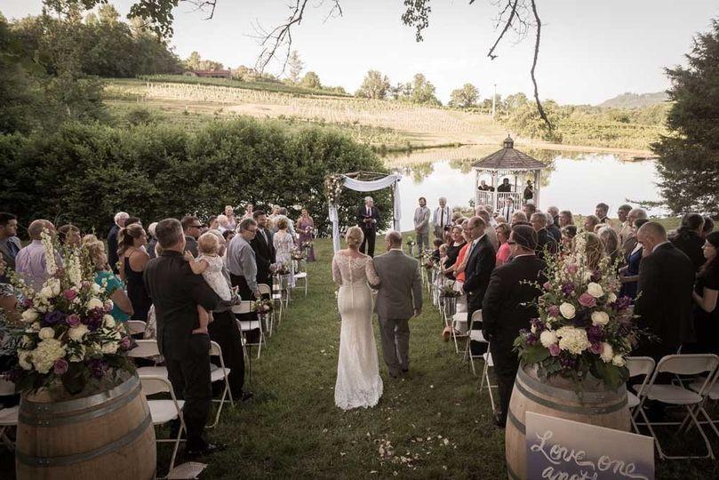Pond-Side Ceremony