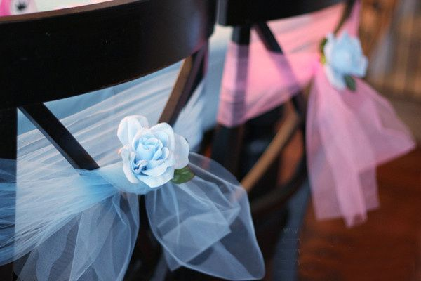 tulle wedding