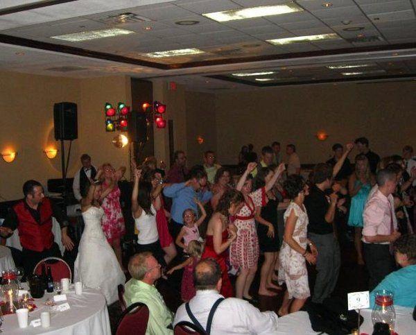 Rob & Carmen Elise (Fisher) Risi Wedding Reception, Middleton, Wisconsin - Horizon Entertainment