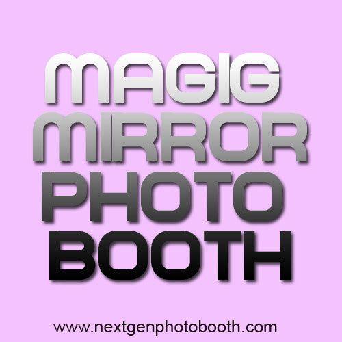 magic mirror photo booth graphic