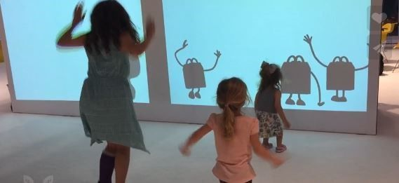 Interactive Wall for Weddings