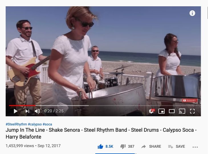 Steel Rhythm Steel Drum Band