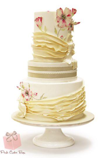 Pink Cake Box - Wedding Cake - Denville, NJ - WeddingWire