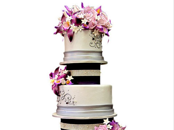 Tmx 1402884058431 Cake1888 Denville wedding cake