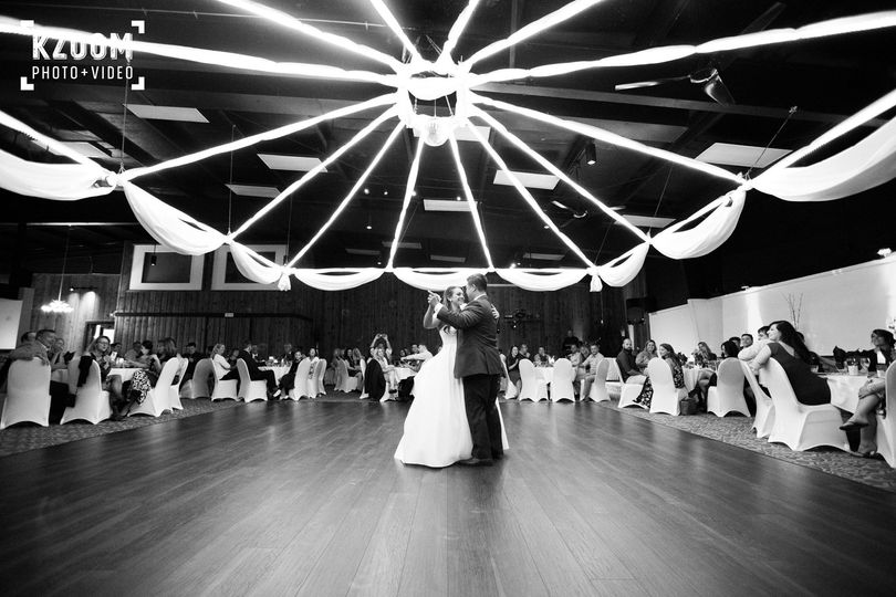 First dance reserved view