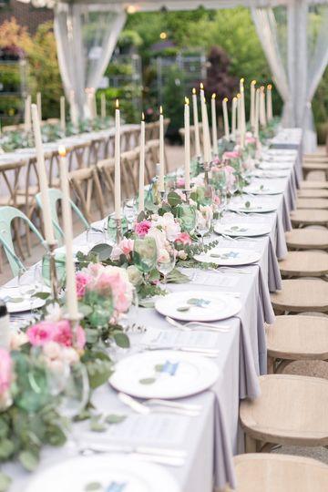 Elegant table settingd