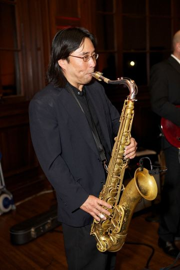 Vince Suzuki, Sax.  RamFunkshus.  Jan Birch Photography.