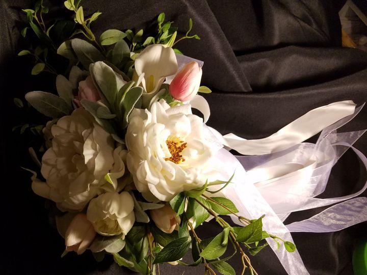 Tmx 1525370669 E5436230e0d485bc 1525370667 45ba0d7b71b14f3c 1525370639262 6 White Peony Bouque Sequim, Washington wedding florist