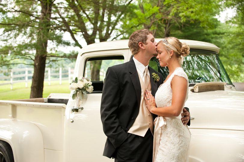 bride groom truck danville pennsylvania