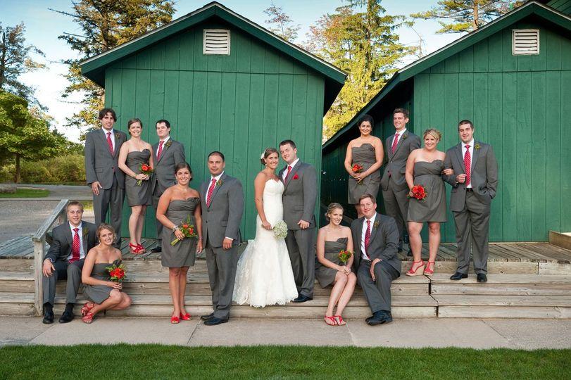 wedding eaglesmere boathouse
