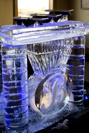 Ice carved