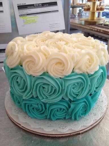 Tmx 1374600465525 Americatiffanyrosettecake New York wedding cake