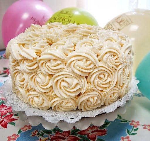 Tmx 1374600524139 Rosette Cake 1 New York wedding cake