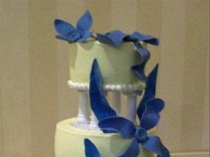 Tmx 1308787261114 ModernBlue Stedman wedding cake