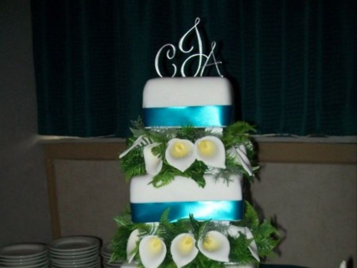 Tmx 1308837646012 CallaTower Stedman wedding cake