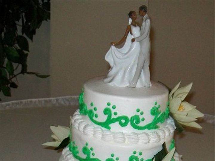 Tmx 1308837706356 EmeraldGarden Stedman wedding cake