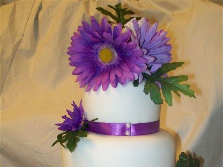 Tmx 1308837962262 LavenderOne Stedman wedding cake
