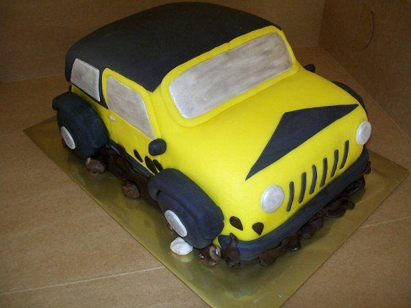 Tmx 1308847123840 YellowJeep Stedman wedding cake