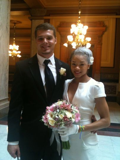 Indiana courthouse wedding