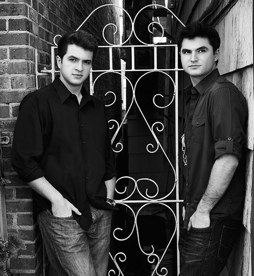 Musicians, Matt and Andrew