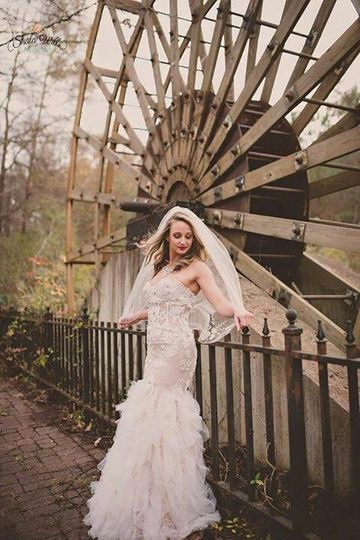 Bride by the mill