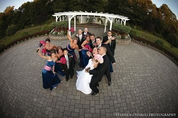 A wedding picture