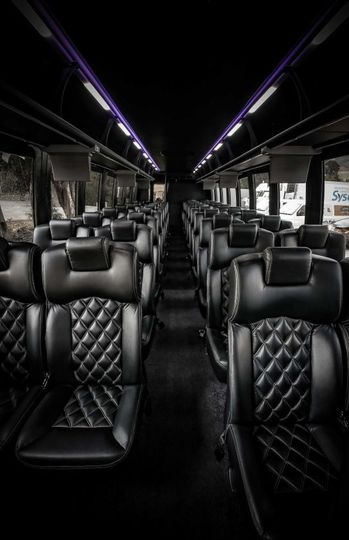 Luxury coachworks bus