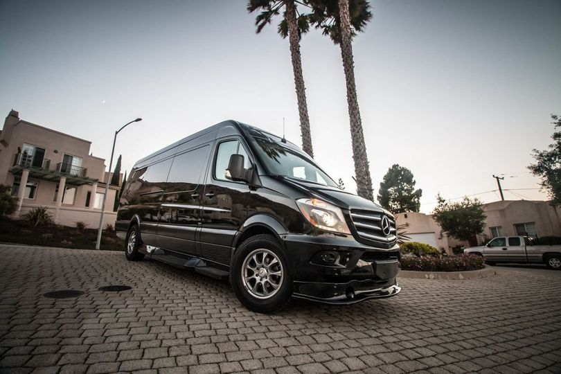 Mercedes landjet sprinter