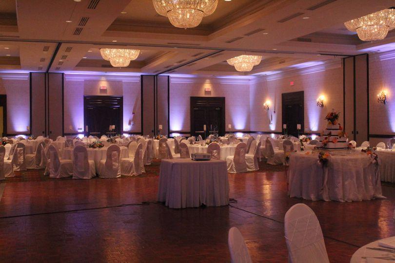 More wedding lighting