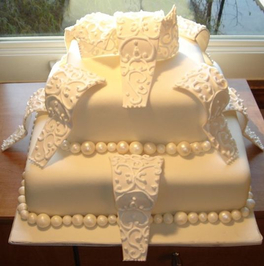 Art Eats Bakery - Wedding Cake - Greenville, SC - WeddingWire