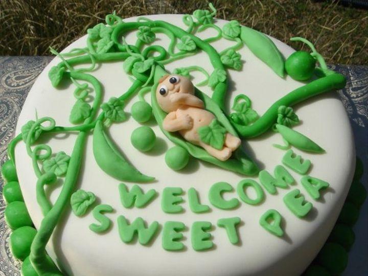 Tmx 1217760761511 Babyinpeapodshowercakewithvinesandleaves Greenville wedding cake