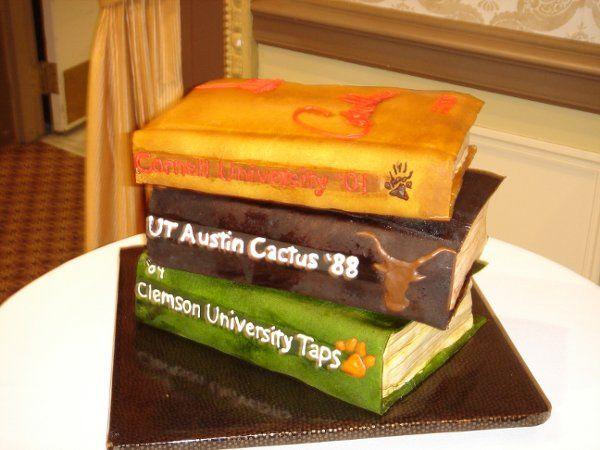 Tmx 1229378654056 Fondantcollegeanualsgroom%27scake010 Greenville wedding cake